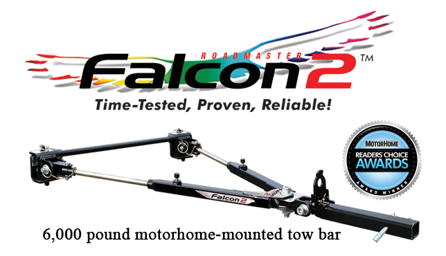 Falcon 2 tow bar by Roadmaster